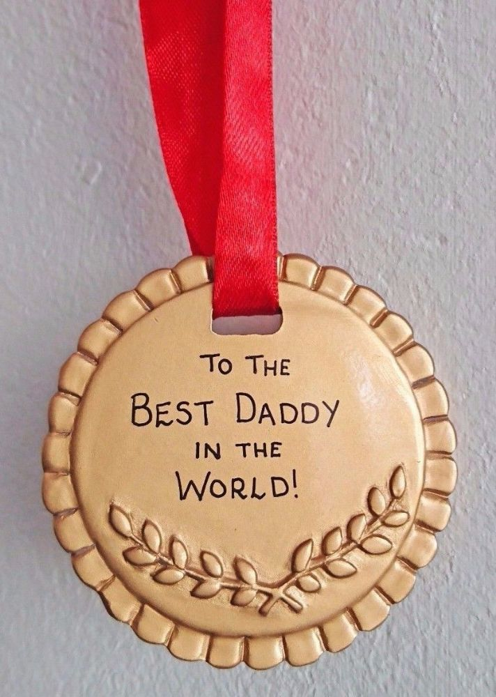 Personalised Gold Medal